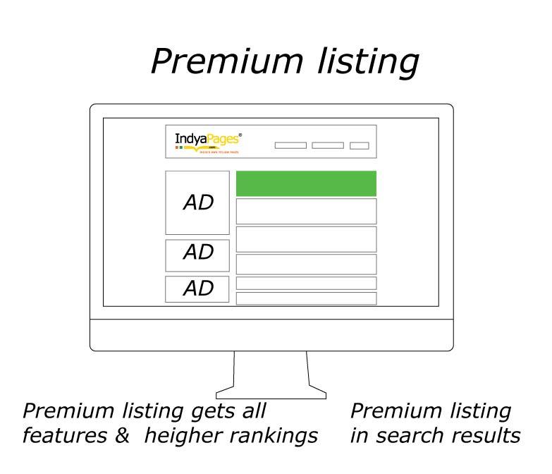 Premium Listing services