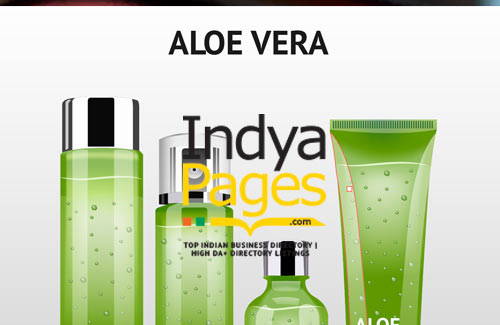 Aloe Vera Care Products - Indyapages