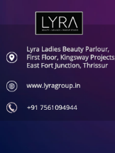 lyra beauty parlour thrissur
