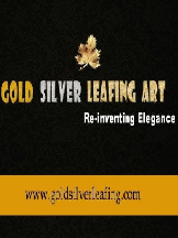 Gold Silver Leafing Art