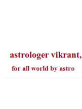 Astrologer Vikrant